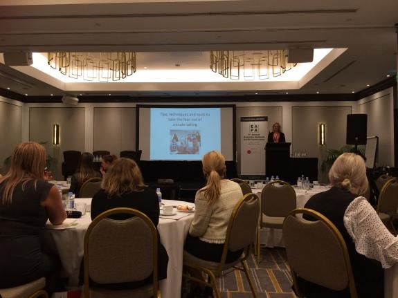 Robyn presenting at Sydney 2018